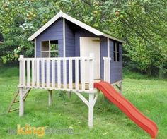 1000 images about cabane on pinterest montages play houses and interieur for Cabane jardin bois enfant