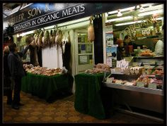 Feller's, Specialists in Organic Meats, Oxford Covered Market. This something you certainly would appreciate @Saya Smalls!