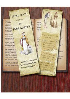 Bookmark - Jane Austen's Persuasion inspired.