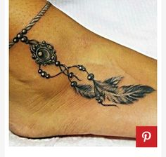Like the COLOR and the white shading. Perfect for the bracelet tattoo.
