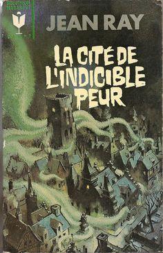 """The City of Unspeakable Fear,"" Horror Fiction, Sci Fi Horror, Horror Books, Horror Comics, Pulp Fiction, Horror Art, Victorian Literature, Gothic Books, Book Cover Art"