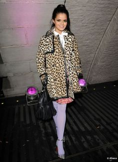 Bip Ling, veryfirstto.com Luxforecast Connoisseur, at London Fashion Week. Image via Celebrity Red Carpet.