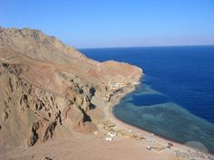 The famous Blue Hole dive and snorkelling site, Dahab, Red Sea, Egypt <3 www.dahabvillas.com