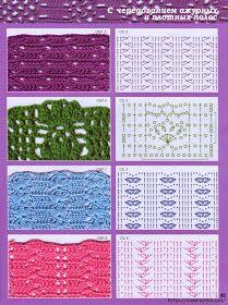 TODO PATRONES CROCHET GRATIS PASO A PASO ESQUEMA Y GRAFICOS: 150 PUNTOS FANTASÍA EN CROCHET CON GRÁFICOS PATRONES GRATIS Crochet Motifs, Crochet Diagram, Crochet Stitches Patterns, Crochet Chart, Crochet Designs, Free Crochet, Stitch Patterns, Knit Crochet, Baby Blanket Crochet