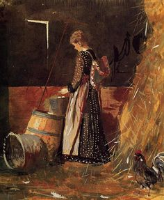 Winslow Homer - Fresh Eggs