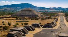 Sitio arqueologico de teotihuacan