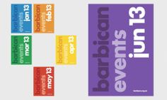 Barbican Visual Identity. Explore the evolution of the Barbican brand, capturing the dynamism of our arts programming to create a fresh new,...