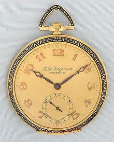 Bogoff Antique Pocket Watches Jules Jurgensen - Bogoff Antique Pocket Watch # 6709