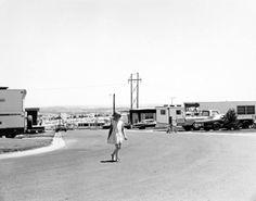 Robert Adams Mobile Home Park North Edge Of Denver Colorado 1973