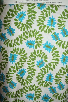 Michael Miller Fabric - One Yard - Meandering Vines - DC4324 Meadow - pinned by pin4etsy.com
