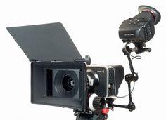 Alphatron EVF on Blackmagic Cinema camera (by: Blackmagicuser.net)