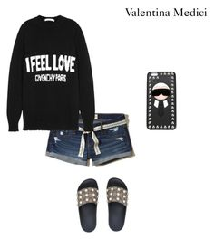"""""""dayzz at home"""" by valentinamedici on Polyvore featuring moda, Hollister Co., Givenchy, Gucci e Fendi"""