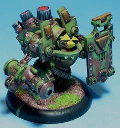 Searforge (Rhulic) Ghordson Avalancher Heavy Warjack for Warmachine