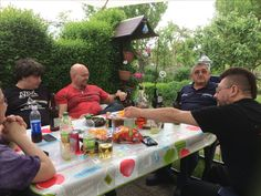 Männertag im Garten