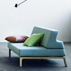 Das Schlafsofa LAZY, konvertieren Ihr Sofa in ein Bett in Sekunden. Deko und Design, SOFTLINE