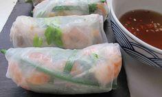 summer rolls...where to find rice paper like that hmmmmmm..... MRT
