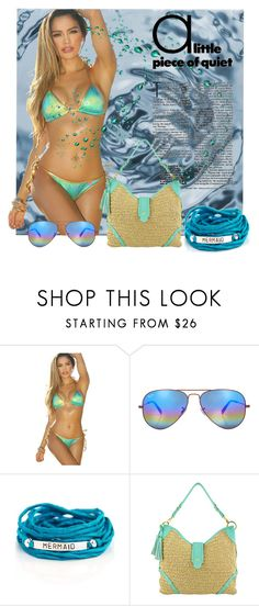 """""""Summer Things"""" by mystic2awesome ❤ liked on Polyvore featuring Ray-Ban and Blooming Lotus Jewelry"""
