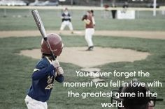 You never forget...