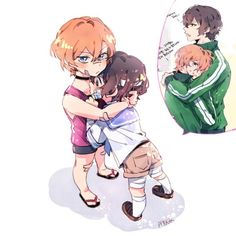 Imagine little Dazai wanting to grow up quickly so he could protect Chuuya. Stray Dogs Anime, Bongou Stray Dogs, Anime Demon, Anime Manga, Dazai Osamu, Anime Ships, Cute Love, Art Reference, Chibi