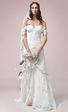 Rue De Seine Fox Gown wedding dress currently for sale at 30% off retail.