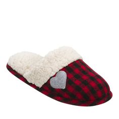 5d69294e929 The perfect slipper for cozying up with family. Cloudlike memory foam  cushioning and a timeless plaid pattern effortlessly blends fashion and  comfort.