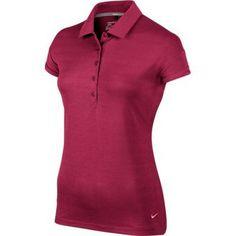Nike Golf Ladies Sport Novelty Polo 2014 Wilson Golf Clubs, Golf Putters, Golf Shop, Golf Irons, Nike Golf, Golf Outfit, Ladies Golf, Golf Ball, Polo