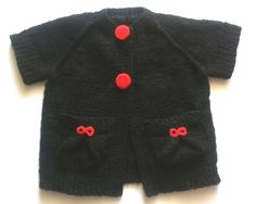 hand made knitted vest for girls 12 by BaByPrOdUcTsByGaLiNa