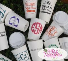 Hey everyone we love a party Now you can order lots of personalized drinkware from us The name of your party or just about anything legal &nb