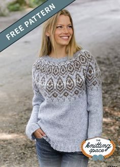 Add This Wonderful Winter Heart Knitted Nordic Sweater To Your Wardrobe All Free Knitting, Winter Knitting Patterns, Free Knitting Patterns For Women, Jumper Patterns, Loom Knitting Patterns, Vintage Knitting, Sock Knitting, Knitting Tutorials, Stitch Patterns