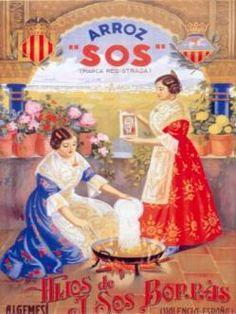 arroz SOS @@@@......http://www.pinterest.com/marajosmuoz/publicidad-antigua/