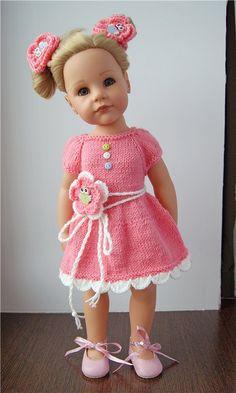 Платья для кукол Готц Gotz и других подобных кукол / Одежда для кукол / Шопик. Продать купить куклу / Бэйбики. Куклы фото. Одежда для кукол