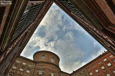 Vista dal Cortile di Palazzo Carignano. Foto di Valerio Minato ph