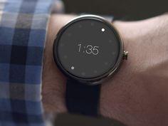 Moto 360 Watch UI by Hari Ramachandran, via Behance. This is so cool!