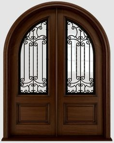 Antiguadoors provides unique custom wood wine cellar doors that would surely suits your taste and will give your home a unique look. Entry Doors For Sale, Interior Doors For Sale, Double Entry Doors, Front Entry, Front Doors, Wooden Glass Door, Wrought Iron Doors, Bathroom Interior Design, Custom Wood