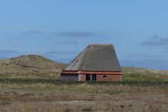 Schapenboet net ten noorden van De Koog, met de 'kont' richting het westen.
