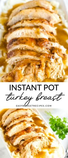Instant Pot Turkey Breast is just the easy Thanksgiving recipe that you've bee. - Instant Pot Turkey Breast is just the easy Thanksgiving recipe that you've been searching for. Best Instant Pot Recipe, Instant Pot Dinner Recipes, Instant Pot Meals, Chicken Breast Instant Pot Recipes, New Recipes For Dinner, Best Thanksgiving Recipes, Thanksgiving 2020, Thanksgiving Crafts, Easy Thanksgiving Appetizers