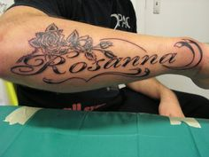 Name Tattoos : In Your Heart and On Your Skin