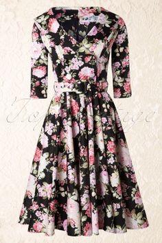 Bunny 50s Dahlia Swing Dress 104 14 13474 20140820 0020W