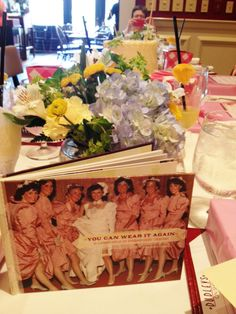 Just Lovely: My Bridesmaids' Luncheon
