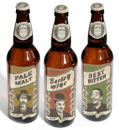 Wahler Brewing Co. by Jeff Trish, via Behance