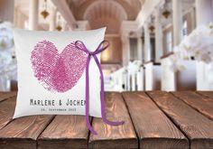 Ringkissen+Hochzeit+weiß+++Personalisierung+44+von+Hochzeitideal+auf+DaWanda.com