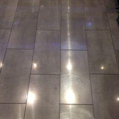 Kitchen floor finished.