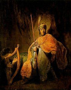 Rembrandt Harmensz. van Rijn: Saul and David (c. 1630)