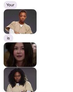 "This clever text: | 32 Jokes Only ""Orange Is The New Black"" Fans Will Understand"