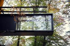 Vipp Shelter is a hotel in a woodland cabin by the lake Immeln designed to invite people to experience firsthand the Vipp's philosophy of good design. Beam Structure, Minimal House Design, Compact House, Tiny House Cabin, House 2, Diy Patio, Patio Ideas, House And Home Magazine, Amazing Architecture