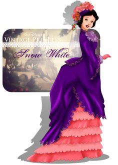 Princesas Disney Vintage