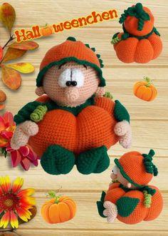 Du magst Halloween + Kürbisse, häkelst + dekorierst gern? Dann hol Dir gleich das tolle Halloweenchen als PDF-Anleitung zum Nachhäkeln. Leg gleich los.