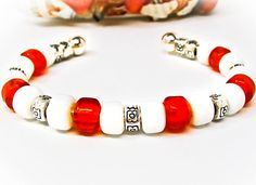 MEN's or Youth Multiple Sclerosis MS Awareness Bracelet by PixieDustFineries