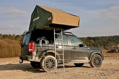 ProSpeed rack and roof tent. Love to have for camping!