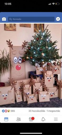 Gift wrapping Christmas - Lynn Home Christmas Gift Wrapping, Diy Christmas Gifts, Family Christmas, Christmas Projects, Winter Christmas, Christmas Holidays, Christmas Decorations, Christmas Ideas, Wrapping Gifts